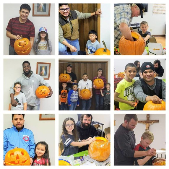 Pumpkins with Dads 2018